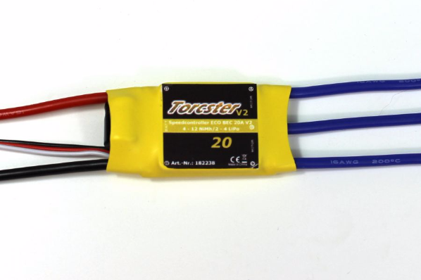 Torcster ECO Brushless Regler 20A V2