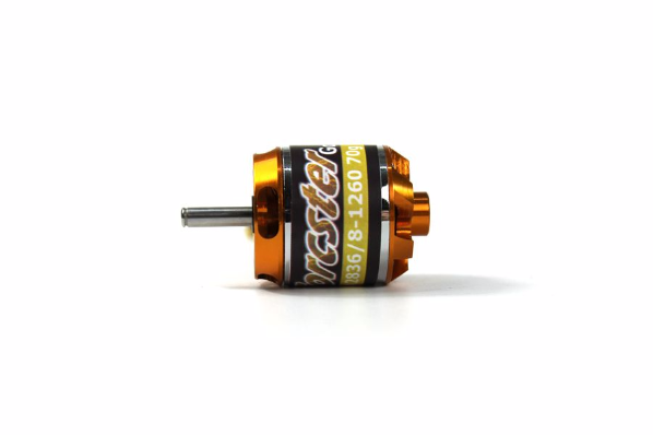 Torcster Brushless Motor Gold A2836/8-1260 70g