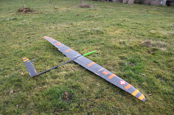 Segelflugzeug Europhia 2 f3f